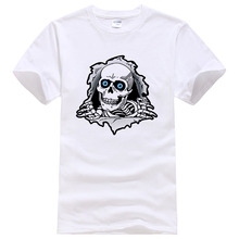 Men Women 100% Cotton 3D Skulls T Shirt hip hop mens 2017 summer style tees Plus size    Free Shipping XM   Fashion plus size 34 41 100