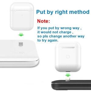 Image 3 - 15W Qi kablosuz şarj standı iPhone 11 Pro X XS MAX XR 8 için hızlı şarj Dock İstasyonu apple iphone 5 4 3 2 1 Airpods Pro