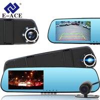 E ACE 4 3 Inch Full HD 1080P Dash Cam Car Dvr Camera Rear View Mirror