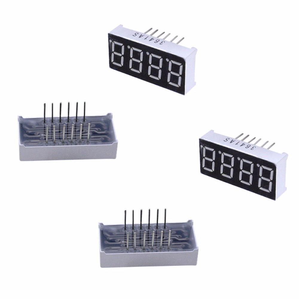 10pcs/lot 4 Digit 7 Segment 0.56