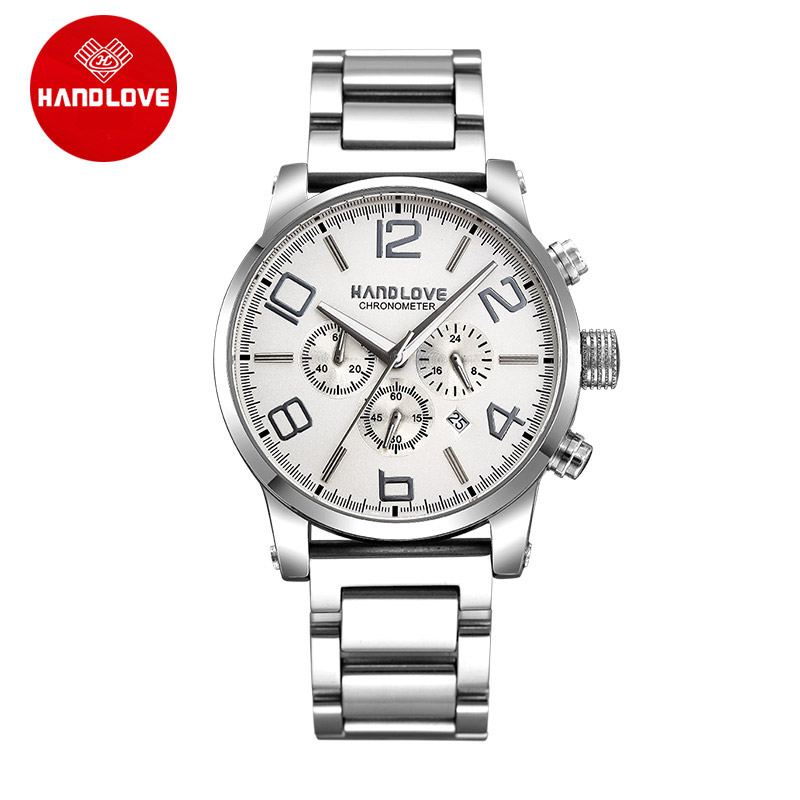Classic Sports Watches Chronograph Luminous Waterproof Men s Watch H4 6018G
