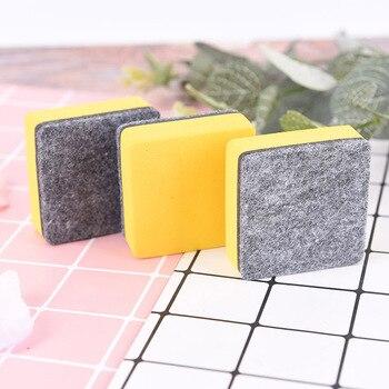 2 sztuk/zestaw tablica magnetyczna gumka tablica gumki Marker suchościeralny biały deska Cleaner szkolne materiały biurowe