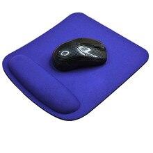 CARPRIE гелевая подставка для запястья, поддержка игровой мыши, коврик для мыши, коврик для компьютера, ПК, ноутбука, Противоскользящий коврик для мыши 21*23 см