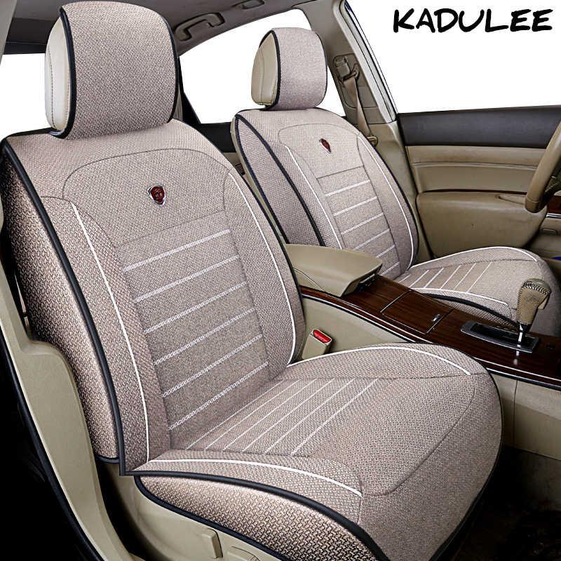 KADULEE лен автокресло крышки для chevrolet lacetti Орландо sonic spark epica Нива Автокресло протектор автоаксессуары- стиль