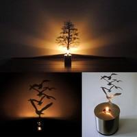2017 Creative Dandelion Led Shadow Night Light Flashlight Atmosphere Novelty Christmas Tree Lamp Light For Decorating