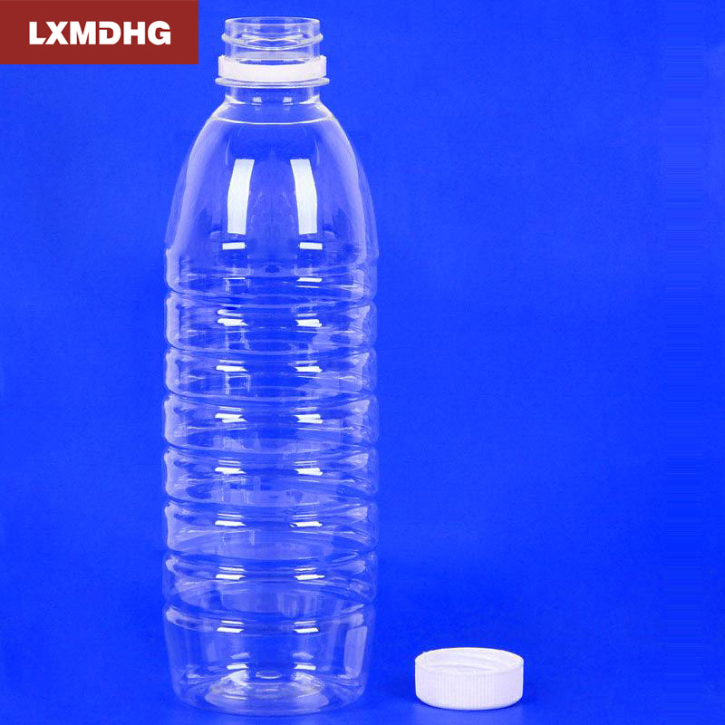 1PCS 500ml Plastic Empty Bottles PET Transparent Safety Food Grade Liquid Bottle Outdoor Travel Plastic Bottle High Transparency