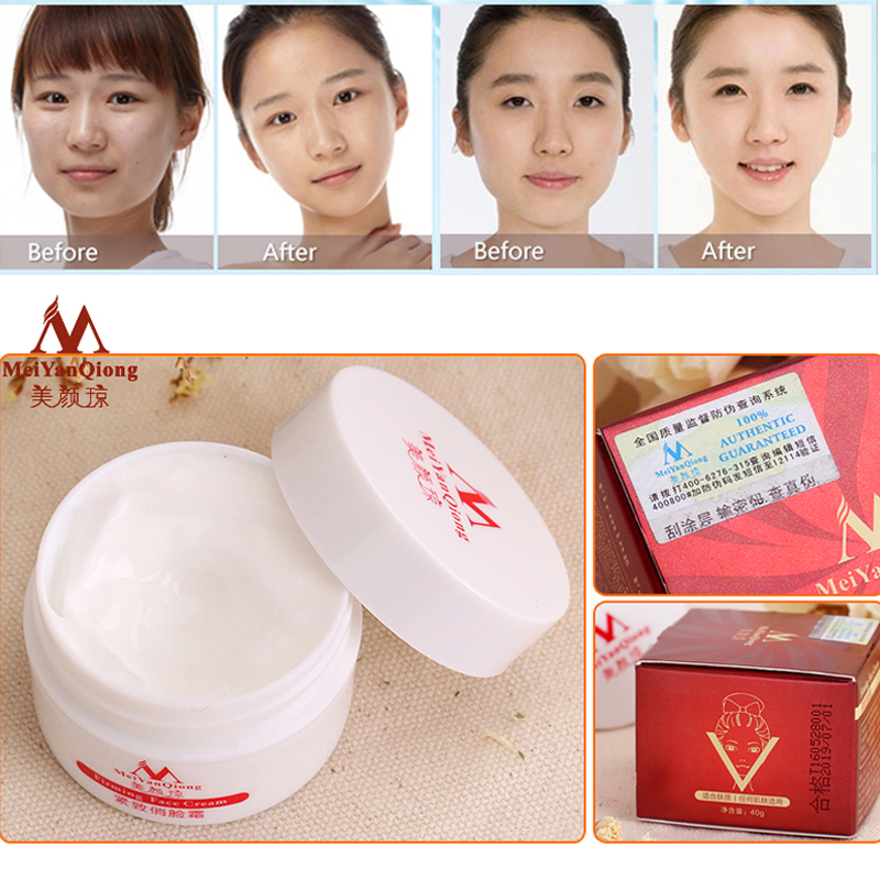 Slimming Face Lifting And Firming Massage Cream Anti-aging Whitening Moisturizing Skin Care Facial Cream Anti-wrinkle V-face серум за растеж на мигли