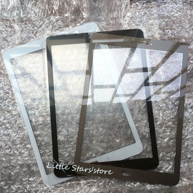 1 ШТ. Черный/Белый/Золото/Серый (Коричневый) Для Samsung Galaxy Tab S2 9.7 SM-T810 T813 T815 Передний Экран Внешнее Стекло Замена объектива T810