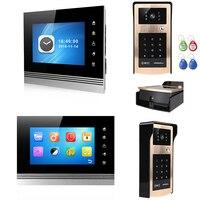 V70Km IDS видео дверь домофон запись Системы открытый с Камера Ночное видение Indoor Поддержка Запись снимок
