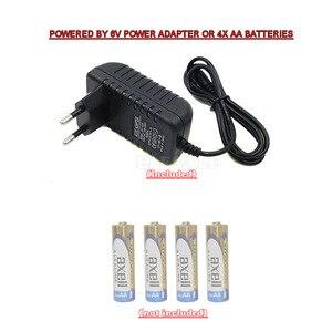 Image 5 - Alarme détecteur de mouvement PIR sans fil, avec 2 commandes à distance, adaptateurs dalimentation pour maison, Garage, caravane, système dalarme