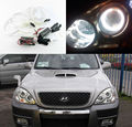 Для Hyundai Terracan 2001 2002 2003 2004 2005 2006 2007 Отлично CCFL Angel Eyes Ultrabright освещения Angel Eyes Halo Кольцо