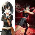 Akame ga убить Kurome черный матрос костюм единую форму наряд аниме косплей костюмы
