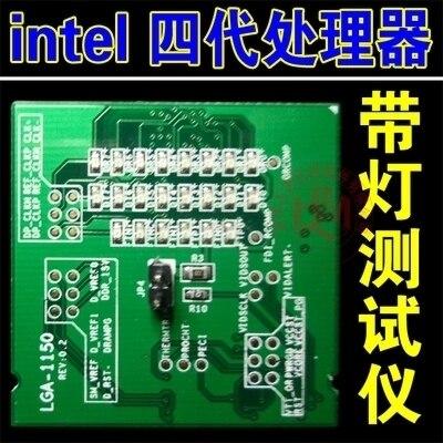 Desktop четвертое поколение Intel CPUDesktop четвертого поколения Цпу Intel с света тестер с эквивалент нагрузки на материнской плате