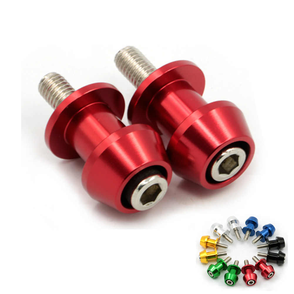 Motorcycle CNC 8mm Swingarm Swing Arm Spools Sliders For Suzuki SV1000 SV650 TL1000R Vstrom 1000 650 DL1000 DL650 GSXR600 750