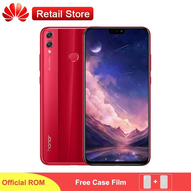Global ROM HONOR 8X Max 6GB 64GB Smartphone 7 12 inch Big Screen 5000mAh Battery Snapdragon