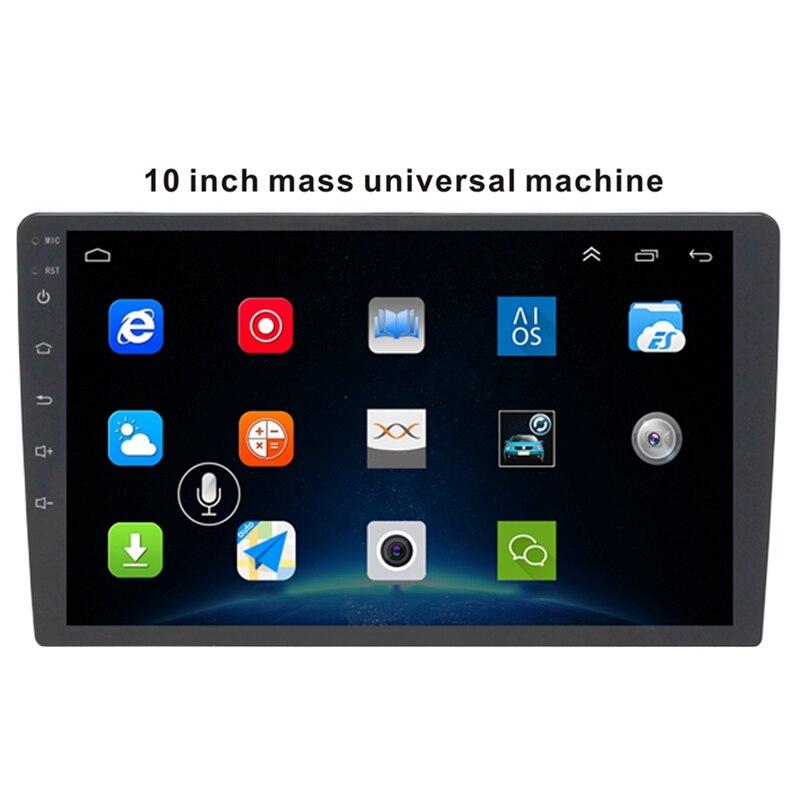 10,1 дюймов Android 8,1 Автомобильный Bluetooth Wifi Gps навигация четырехъядерный Радио Видео Аудио мультимедиа Mp5 плеер