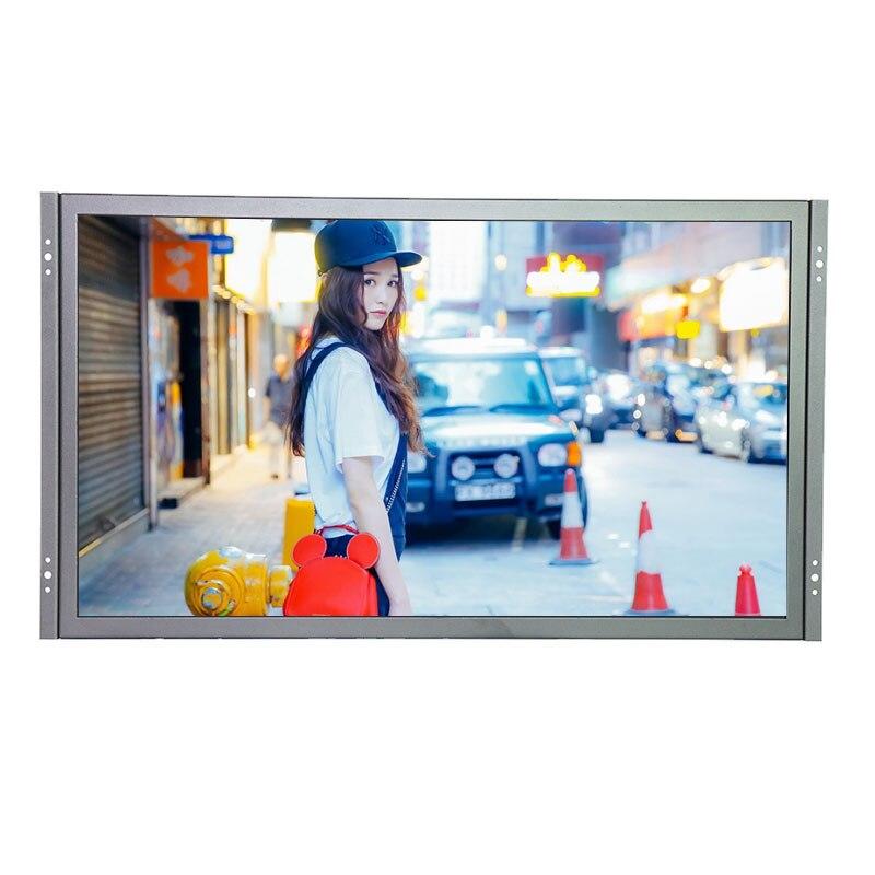 G215 Industrielle Cadre Ouvert Moniteur 21.5 pouce 1920*1080 Moniteur LCD Montage Avec Vesa Trou 75*75mm 100*100mm