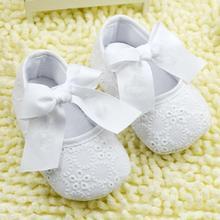 2017 Девочка Белая Обувь Малышей Prewalker Anti-Slip Обуви Simple Детская Обувь