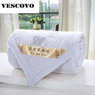 Chinese Silk Comforter for Summer Queen Full Twin size Duvet/Blanket/Quilt Filler Bedding