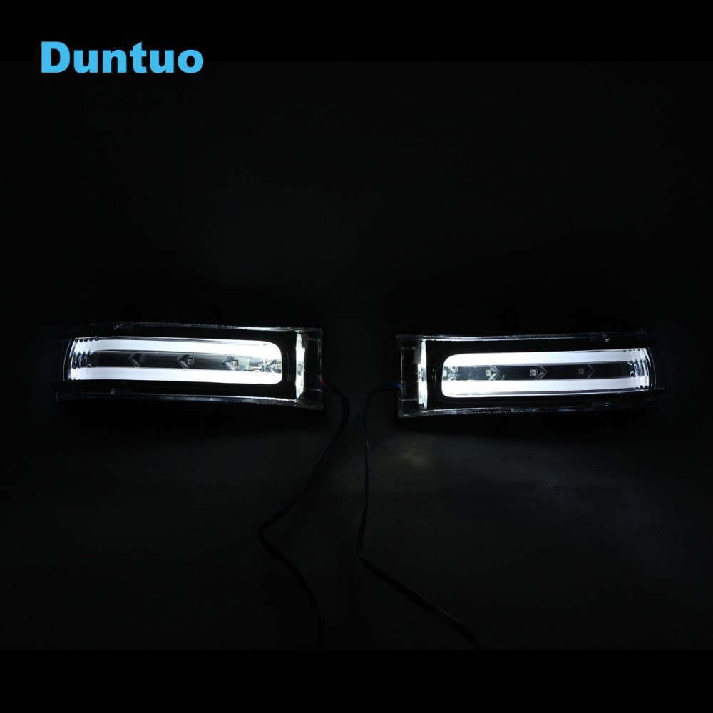 Rearview Mirror Light Turn Signal Light For Toyota Vanguard VOXY RAV4 Highlander Estima Alphard NOAH Previa VELLFIRE 20 Fortuner for toyota highlander e z prius alphard crown camr rei corolla prodo land cruise previa daytime running light