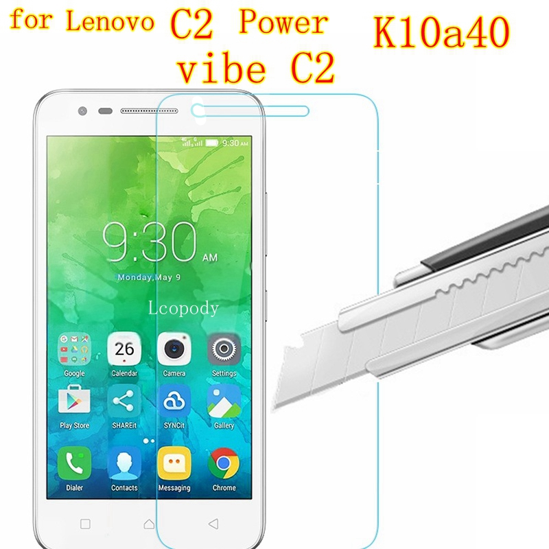 Premium tempered glass FOR <font><b>lenovo</b></font> <font><b>C2</b></font> Power vibe <font><b>C2</b></font> <font><b>K10A40</b></font> Screen Protector Films FOR <font><b>lenovo</b></font> mobile <font><b>phone</b></font> elephone smartphone image