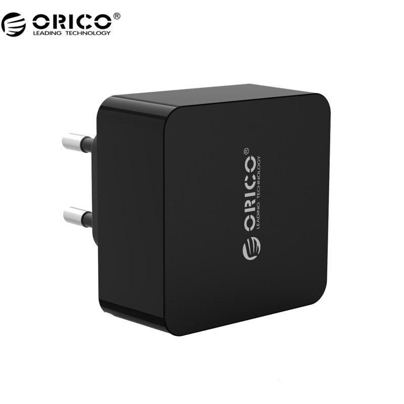 imágenes para Orico qtw-1u qc3.0 1 puerto usb cargador rápido cargador de pared con 1 m envío micro usb cable