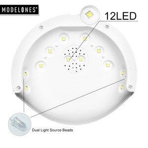 Image 5 - Modelones 16Pcs/Lot Nail Gel Kits 36W Led Lamp USB Cable Nail Dryer Manicure Tools Set Any 8 Colors Gel Polish Base Top Coat