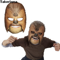 Vivid Voice Mask Star Wars The Force Awakens Chewbacca Mask Electronic Luminous Party & Halloween Mask Toys with Voice For Boy