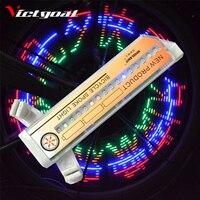 Victgoal自転車ホイールライトdiy柄ライトカラフルな明るいサイクリングledライトタイヤランプ葉バイクライトサイクリングアクセサリー