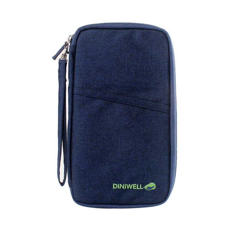 DINIWELL Brand Unisex Portable Passport Credit Card ID Ticket Storage Dump Bag For Home Travel Organizer