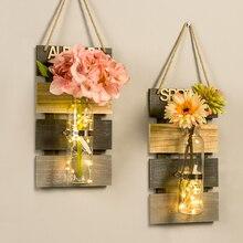Ins, скандинавский стиль, настенная подвесная подвеска, креативное для дома и крыльца, спальни, магазина, подвесное украшение на стену, декоративная ваза, свадебные принадлежности