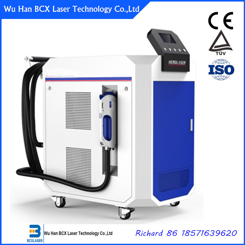 200W/500w IPG fiber laser rust removal machine for metallurgical industry cleaning