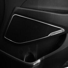 Para Hyundai Tucson 2015 2016 2017 2018 Porta Do Carro Estéreo Acessórios de Cobre Orador Porta Adesivos Lantejoulas Decoração Interna