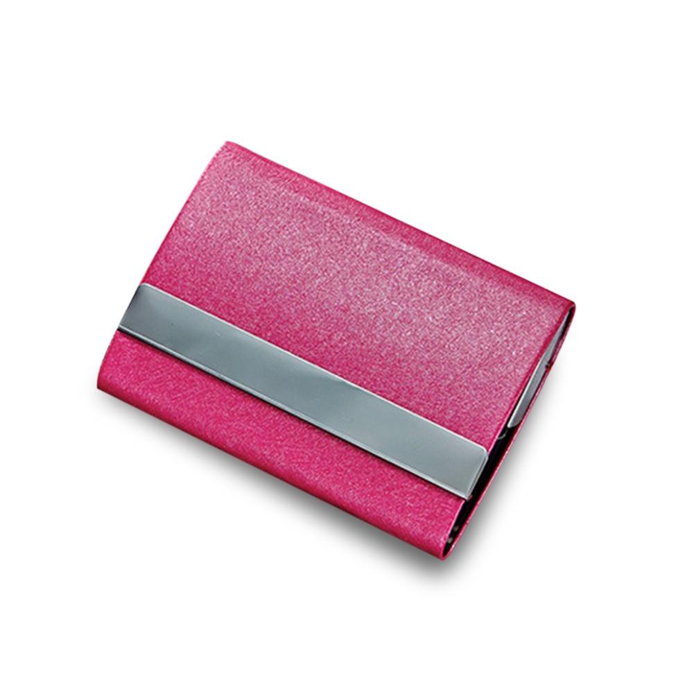 Кредитные держатель для карт пряжка ID Держатели посылка Организатор Бизнес карты коробка для Для женщин Для мужчин Популярные