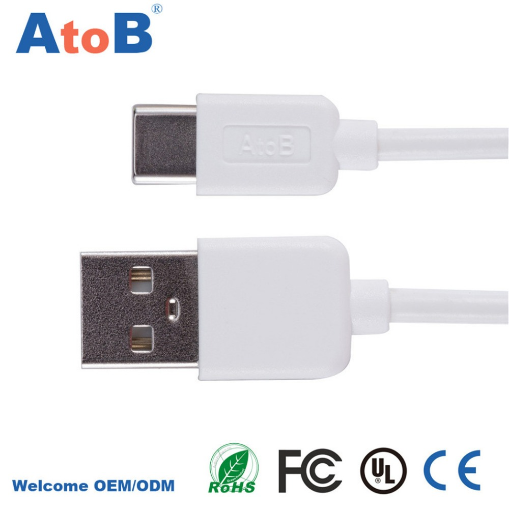 1m 100cm 3feet Usb Type C Cable For Macbook Oneplus 2 Charger Wiring Wire Zuk Z1 Cables Fast Charging Huawei