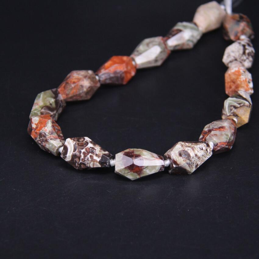 Natural Ocean Jasper Freeform Slab Pendant Beads,Brown Marine Agate Stone gold Foil Edged Facetad Slice fine Pendant jewelry making Crafts