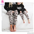 New Fashion Super Elastic Leggings Digital Printing Children Mother Installed Leggings  2091