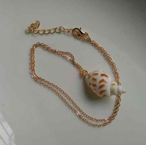 N878 nuevo collar con colgante de playa Bohemia para mujer collar con concha colgante collar de joyería para mujer