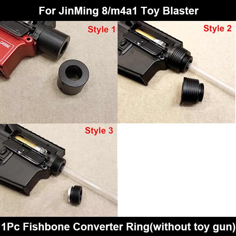 Zhenduo Toy j8 metal converter Toy Gel Ball Gun Accessores Toy Gun For Children Outdoor Hobby