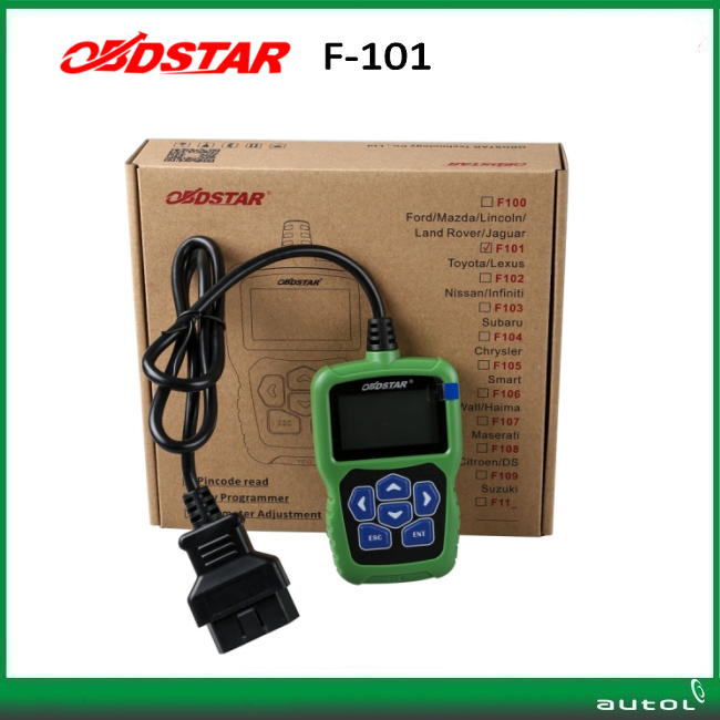OBDSTAR F101 For TOYOTA Immo(G) Reset tool Support G Chip All Key Lost F101 OBDSTAR with free shipping