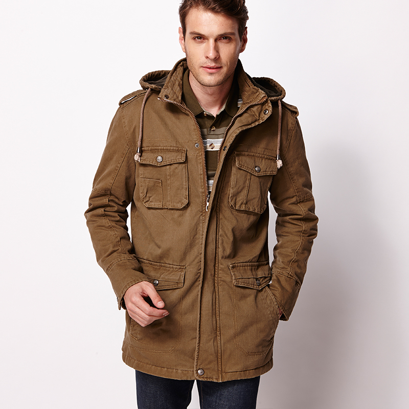 Men Parka Jacket - Coat Nj