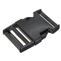 Wholesale10pcs 10 stücke boucles plastiques clips paracord gießen sangle fermoir armband paracorde noir 38mm