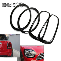 For Mini Cooper JCW Clubman F54 Car Styling Headlight Head Tail Rear Frame Ring Covers Sticker Accessories For Mini Cooper F54