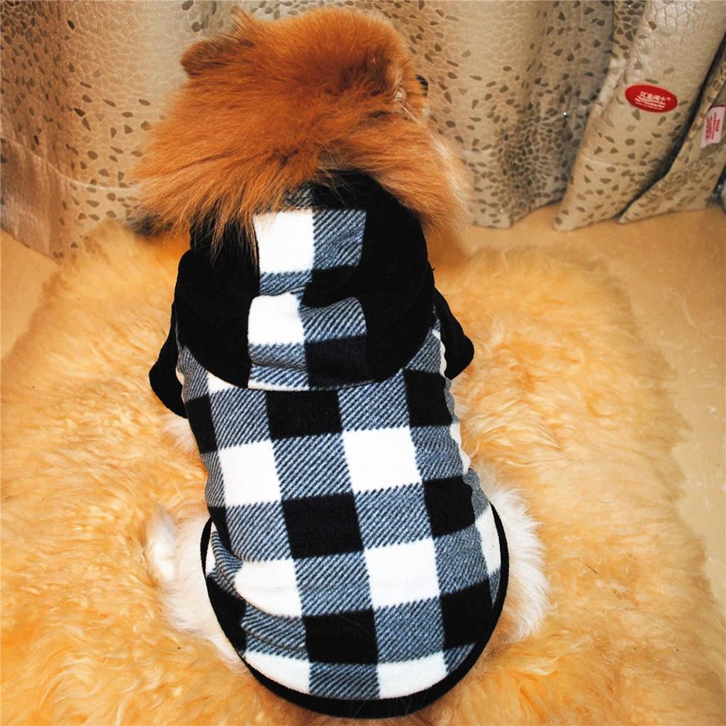 Одежда для собак Толстовка Теплый Флис щенок пальто Одежда для домашнего животного, собаки одежда зимняя одежда теплая одежда утолщение пр...