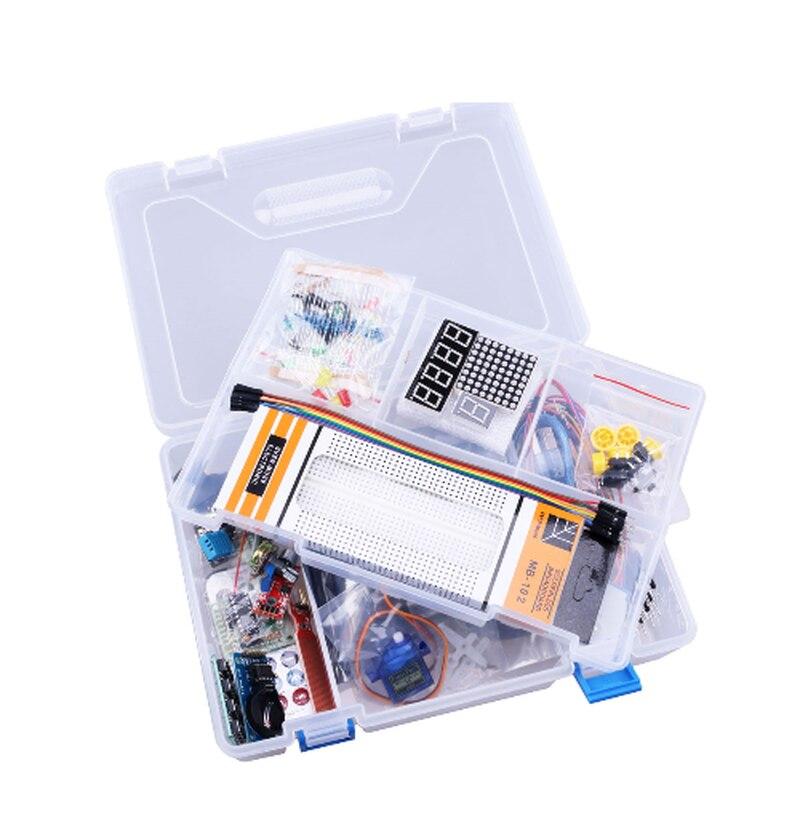1 Kit de démarrage RFID pour Arduino UNO R3 version améliorée Suite d'apprentissage avec boîte au détail # Hbm0114