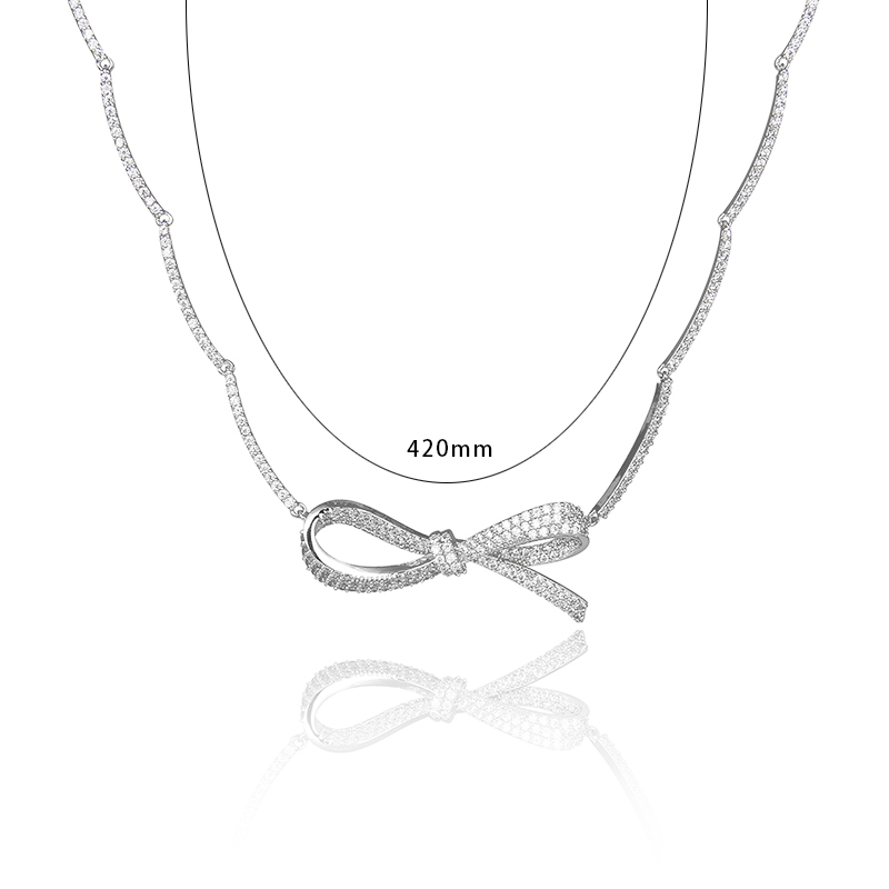unforgettable pendant mafaldine jewellery ribbon products necklaces figura bella pendants collections