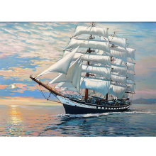 Sailboat DIY diamond painting dimaond embroidery full drill mosaic round