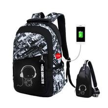 boys school bags waterproof large backpack for teenagers bag