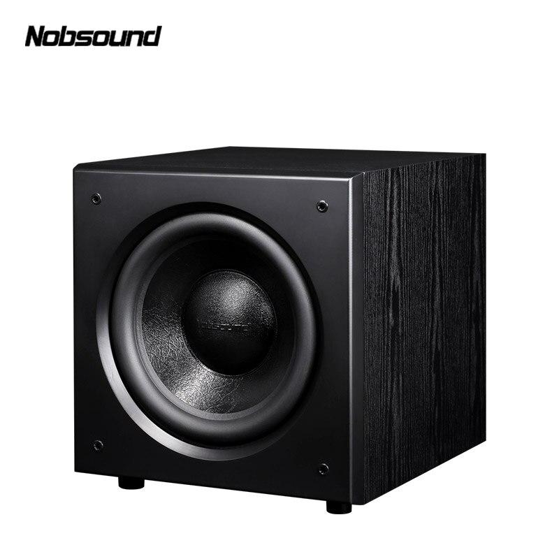 Nobsound SW-120 bois PMPO 400 W 12 pouces caisson de basses actif colonne ordinateur haut-parleurs MP3