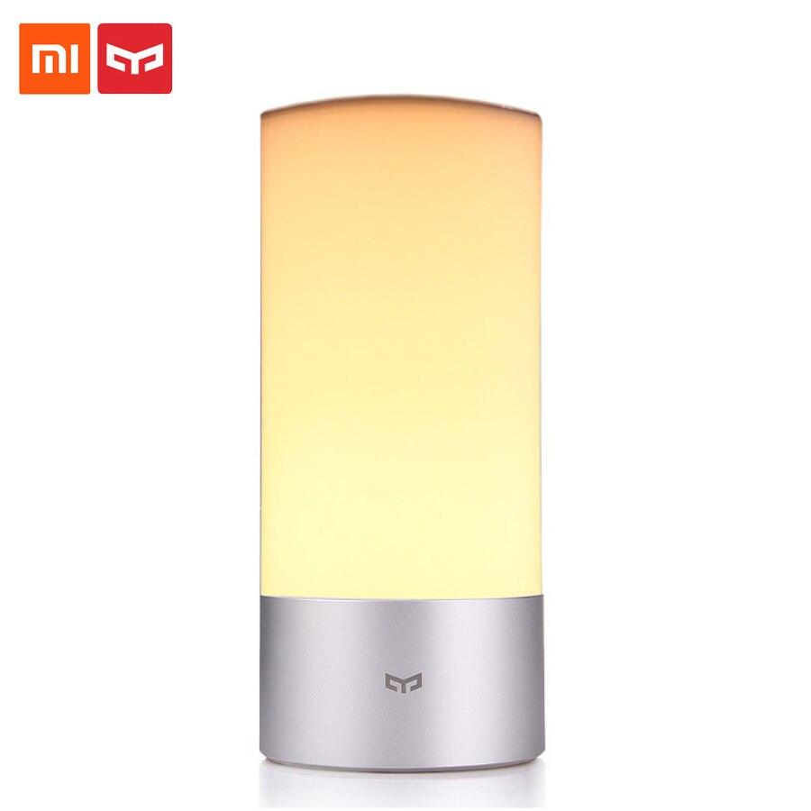 Xiao mi mi jia Yeelight lampe intelligente à distance lit intérieur lampe de chevet 16 mi llion RGB lumières contrôle tactile Bluetooth pour mi Home APP 35
